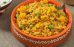 Vegetable Pulao (Tehri)